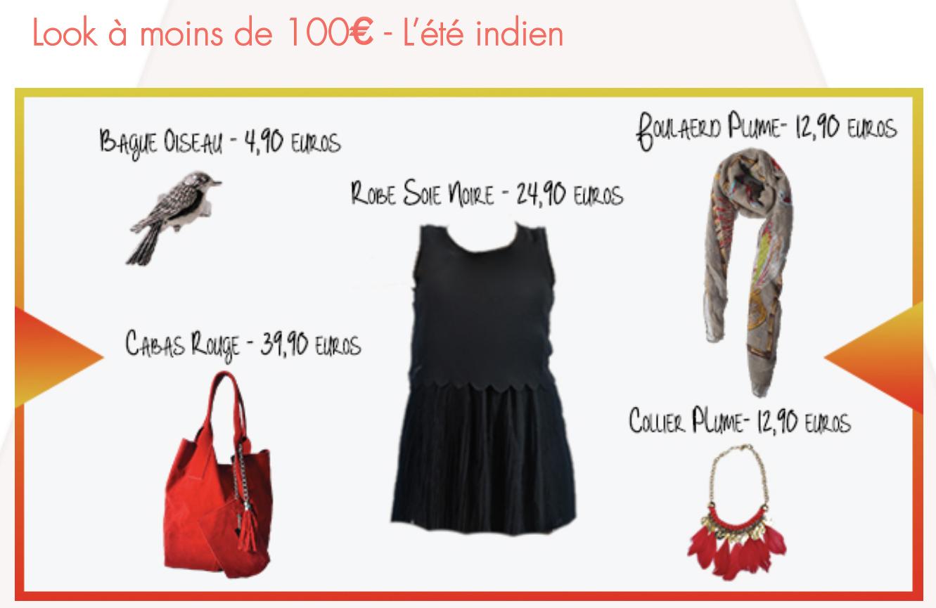 Look à moins de 100€ - L'été Indien